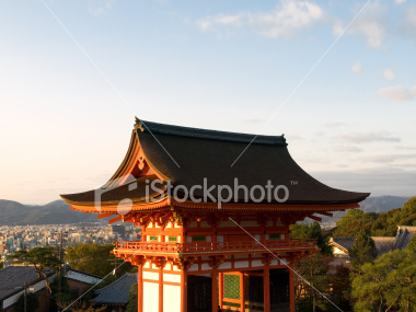 Gateway of Kiyomizu Temple