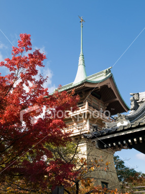 Gion Tower in Daiunin Temple