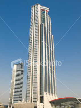 Tall office building on Shutterstock.com